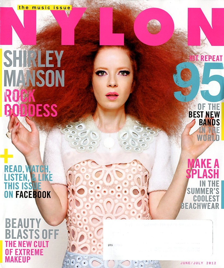 Shirley Manson On The Cover Of Nylon June July 2012